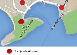 Luka zel. otoci